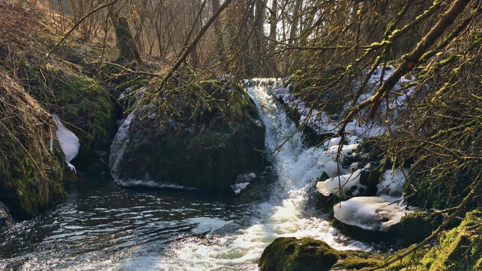 Lučinsko-svatoborské vodopády