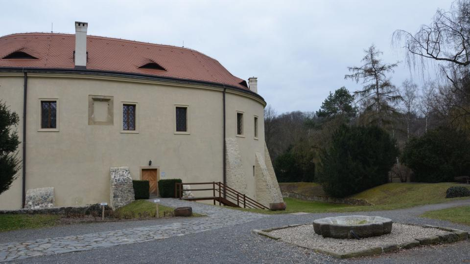 V areálu roztockého zámku sídlí tamní muzeum