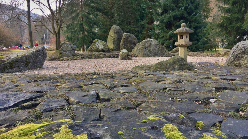 Japonská zahrada v Karlových Varech