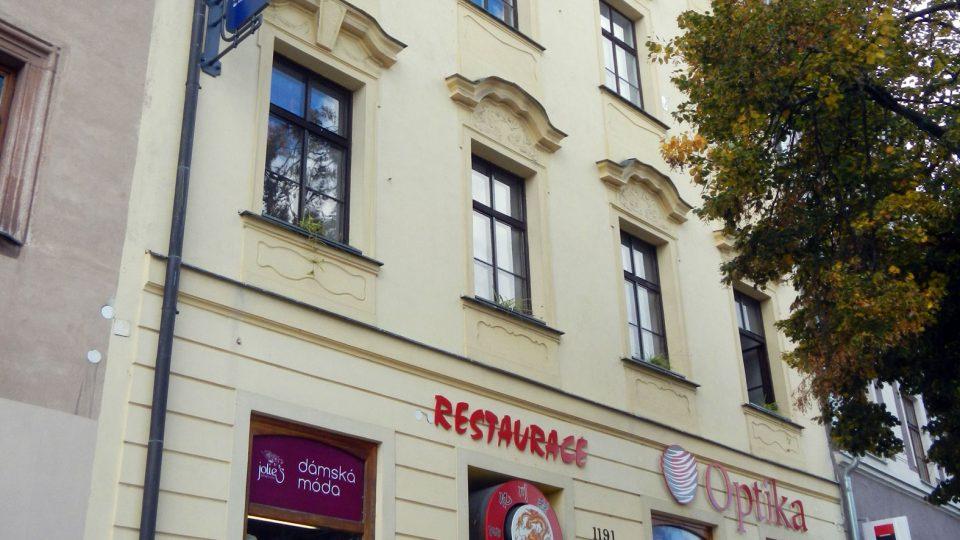 Měšťanský dům (Jihlava), Masarykovo nám. 1191/42 (v roce 2012)