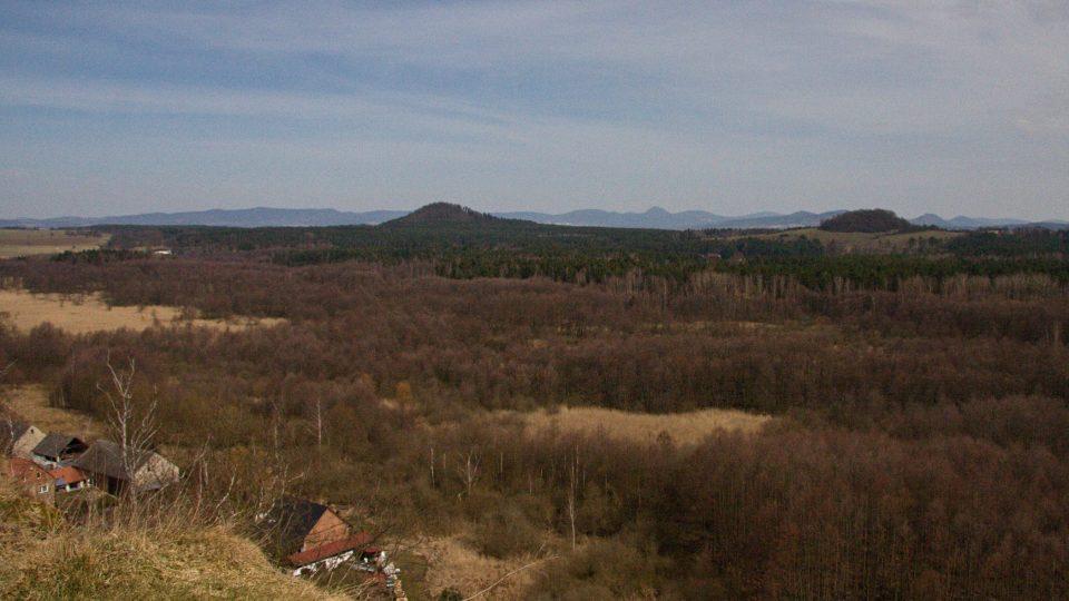Výhled na Lužické hory