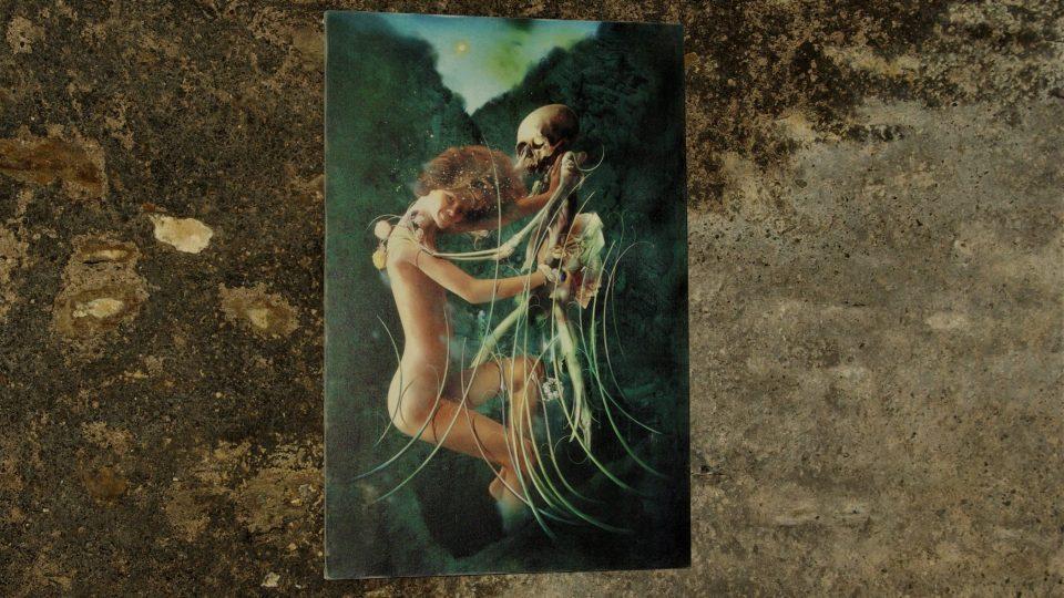 Obraz ve sklepení Zázvorky symbolizuje pomíjivost života
