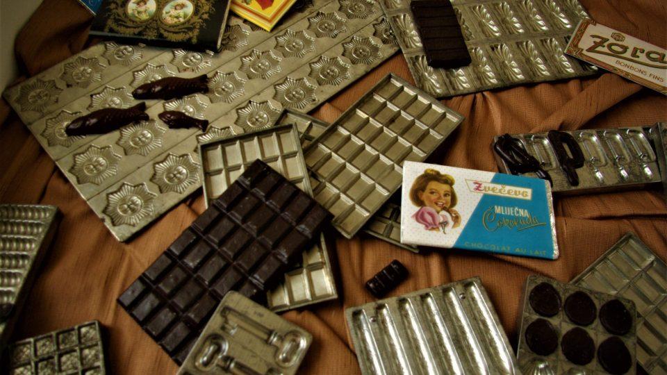 Historické formy na čokoládu