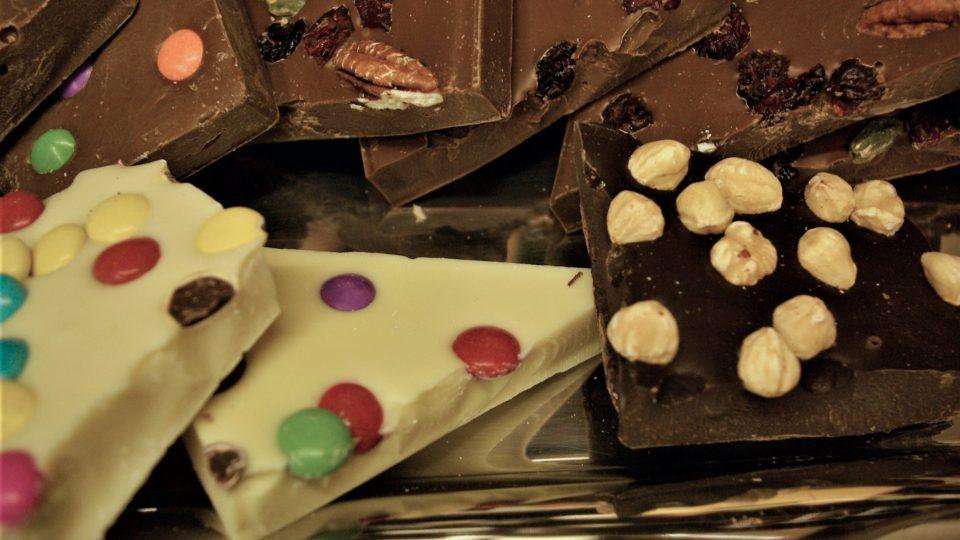 Kvalitní čokoláda pro malé i velké mlsouny