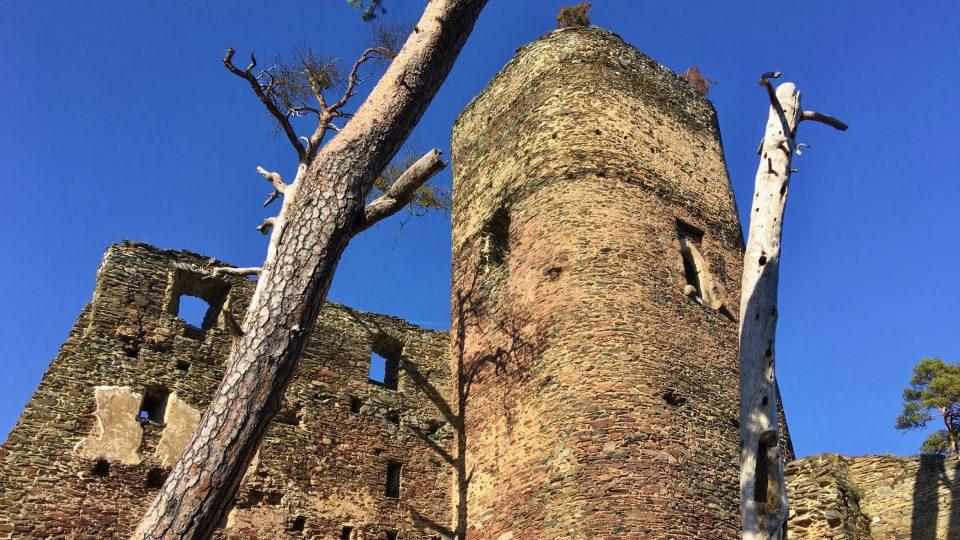 Hrad pochází ze 13. století
