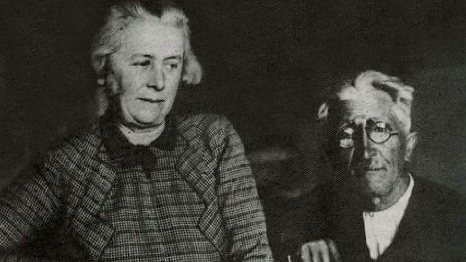 Anna Macková a Josef Váchal