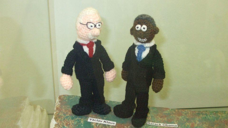 Prezidenti Václav Klaus a Barack Obama