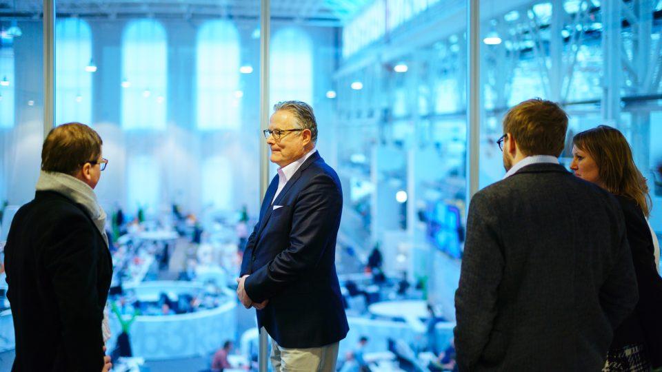 David Boardman v pražské Economii