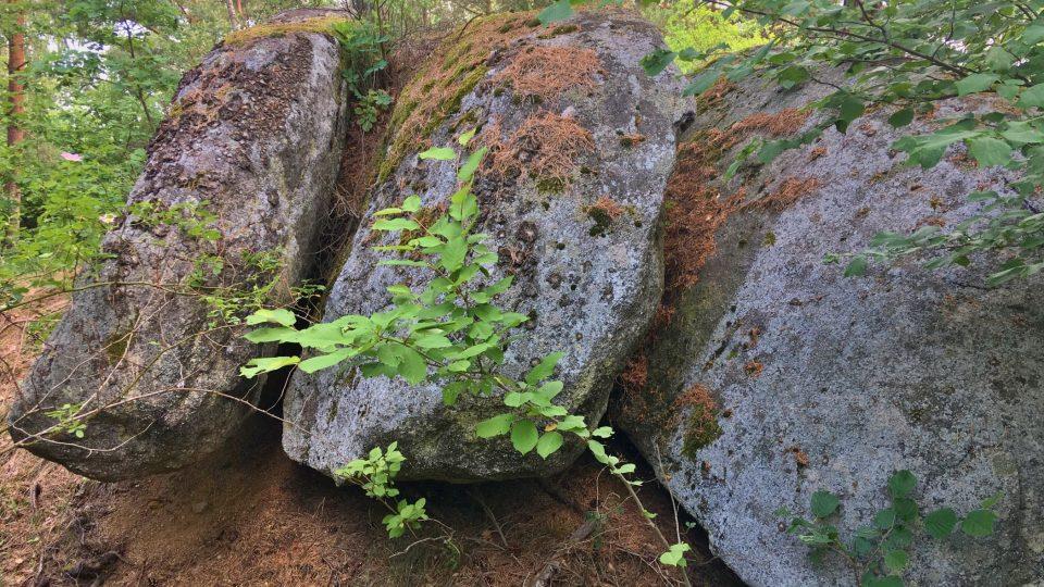 Kamenné prsty obra