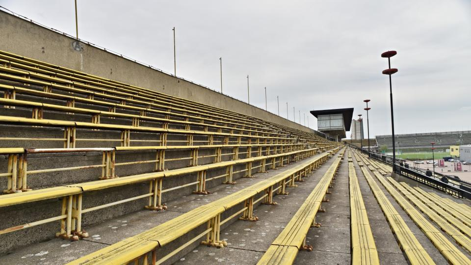 Strahovský stadion, květen 2020