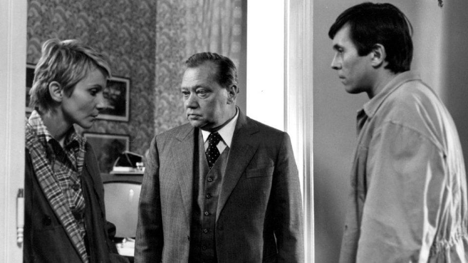 Rudolf Hrušínský ve filmu Kulový blesk