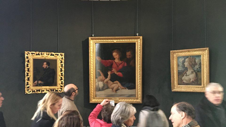 Raffael Santi, ze sbírky na zámku Chantilly, Francie