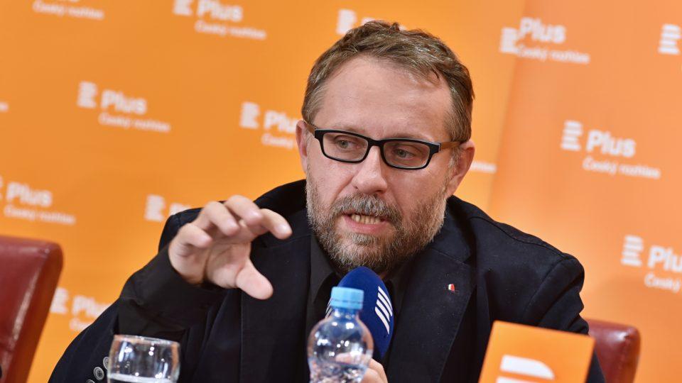 Filmový kritik Tomáš Baldýnský