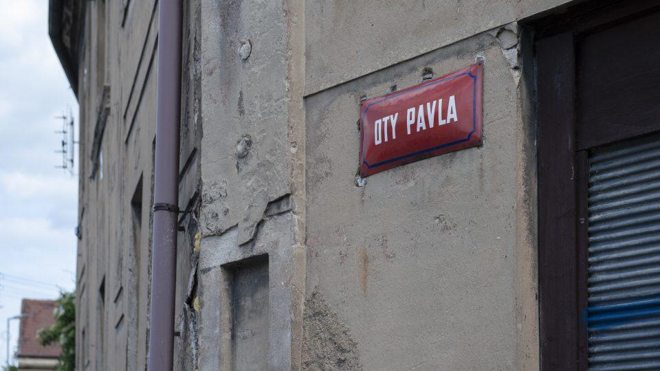 Ulice Oty Pavla v Buštěhradě