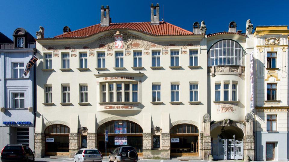 Okresní dům vHradci Králové, architekt Jan Kotěra