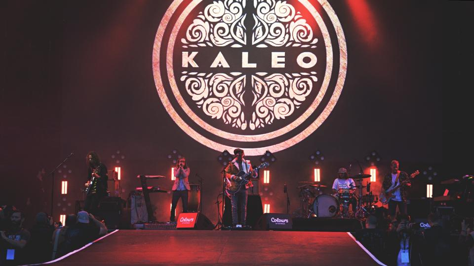 Kaleo na Colours of Ostrava 2018