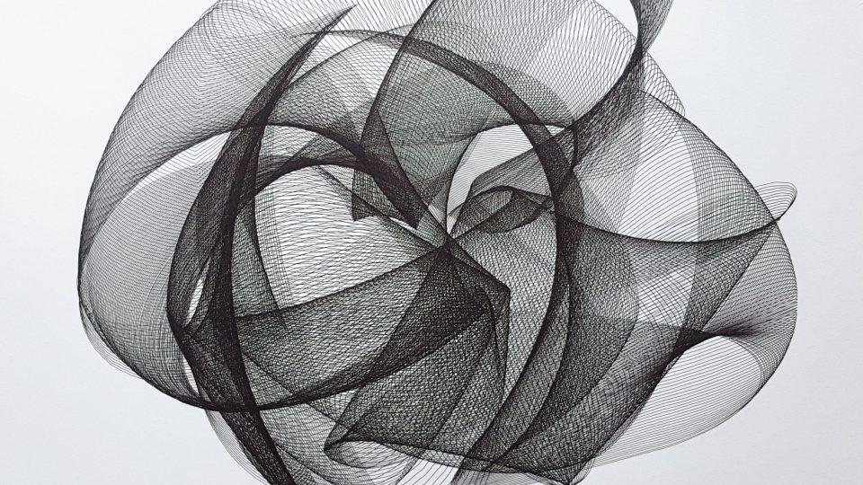 Z cyklu Deterministický chaos od Jakuba Petra VERNISÁŽ skupinové výstavy If it's an illusion, why does it feel so real?