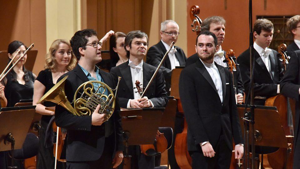 Debut Pražského jara, Prague Philharmonia, Ben Glassberg a Alexandre Collard