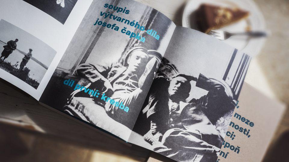 Pracoval jsem mnoho – Soupis výtvarného díla Josefa Čapka: Díl první: Kresba, ukázka z knihy