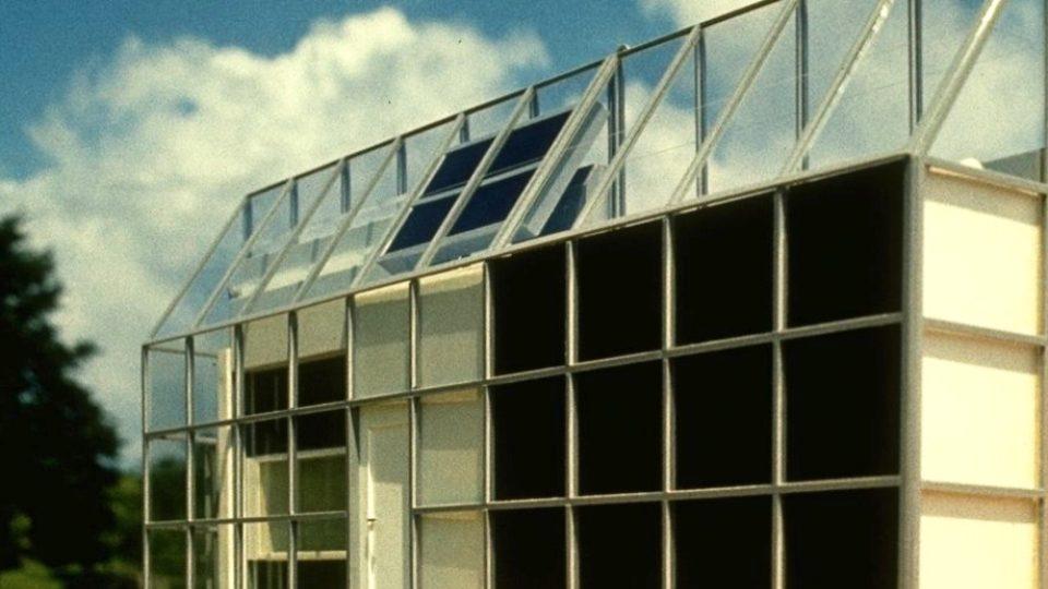 Jiří Suchomel, Jan Žemlička, Otto Valouch a Karel Novotný, model slunečního domku pro Astronomický ústav vOndřejově, 1978–1980