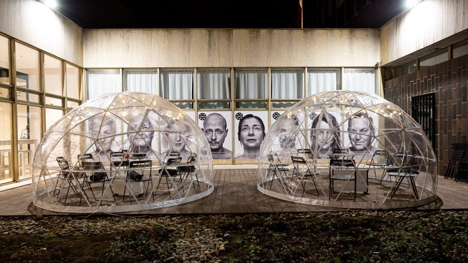 Z interaktivní výstavy Urbania v pražském Centru architektury a městského plánování