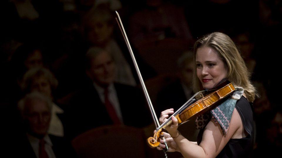 Koncert pro housle a orchestr od Albana Berga, Leila Josefowicz a SOČR, 9. 3. 2020