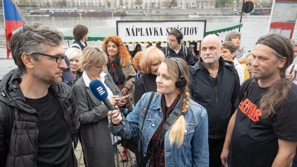 Otevření pražské náplavky 23. října a přímý přenos ArtCafé