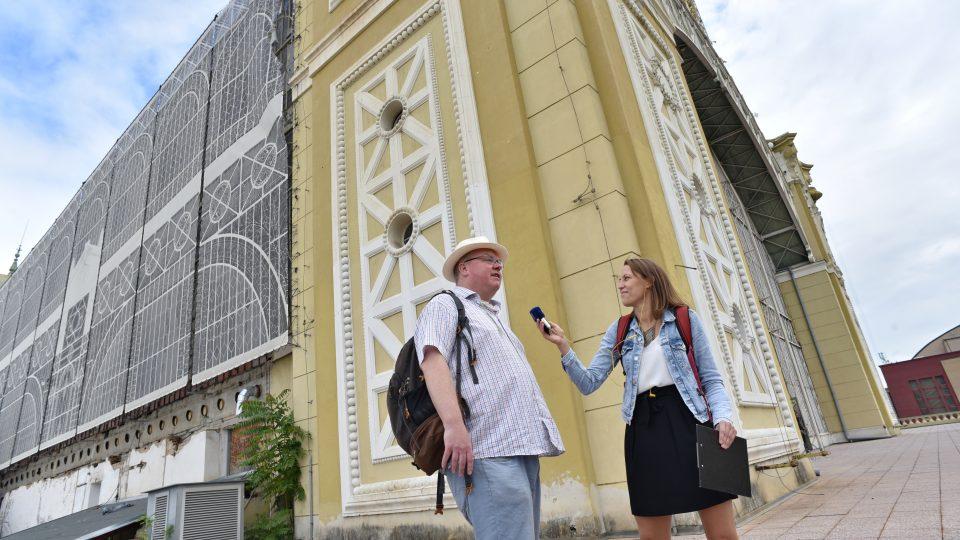 Výstaviště Praha, Richard Biegel a Veronika Štefanová