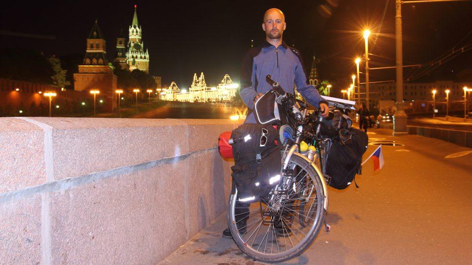 S bicyklem na cestách - Moskva