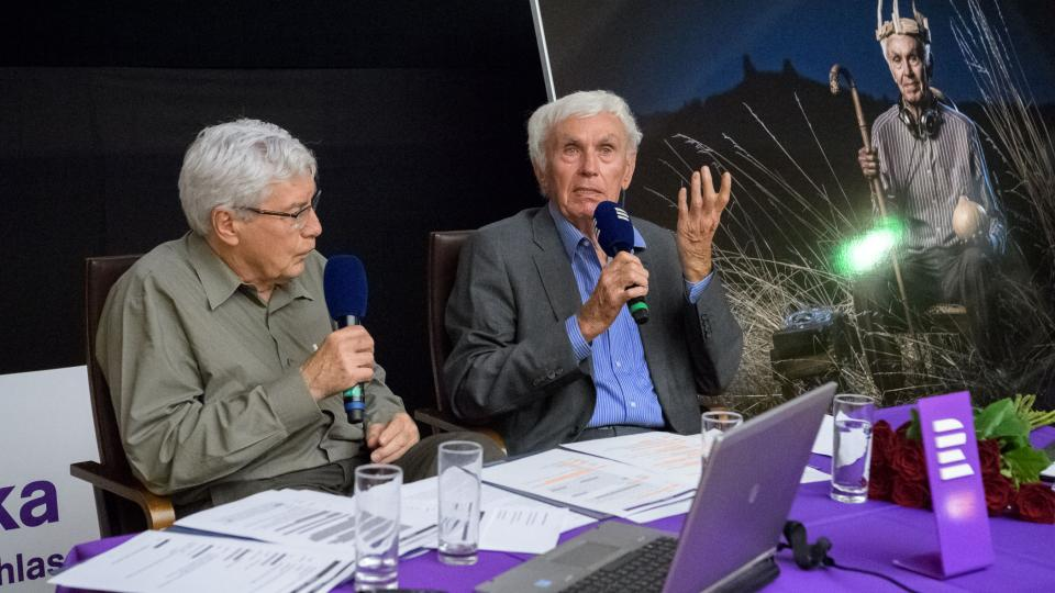 Jiří Grygar s Josefem Kleiblem