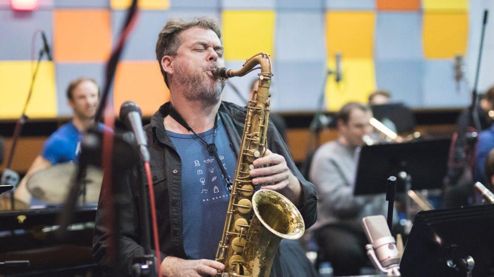 Marcel Bárta na koncertě Concept Art Orchestra