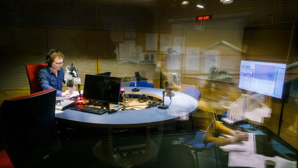 Moderátor odpolední Mozaiky Martin Luhan