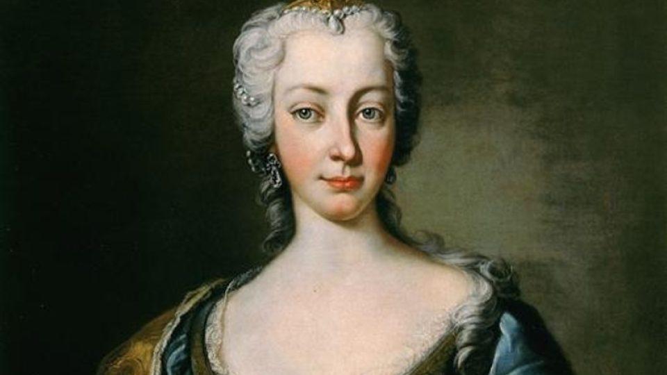 Portrét Marie Terezie od Gabriella Mattei.