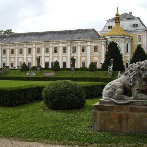 Zámek ve středočeské Lysé nad Labem