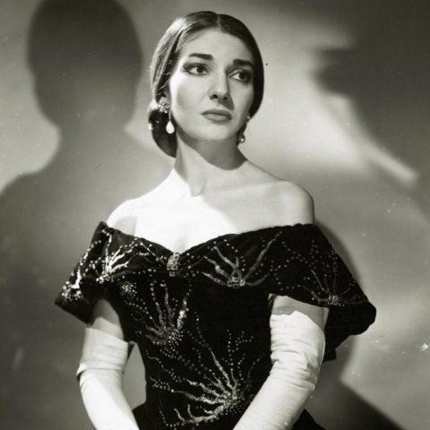 Legendární operní pěvkyně Maria Callasová