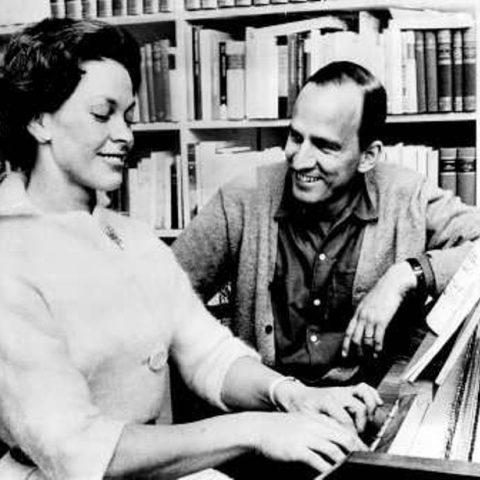 Ingmar Bergman s manželkou Käbi Laretei