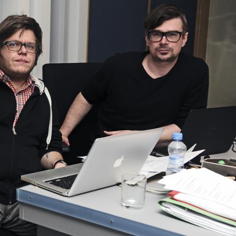 Martin Becker, Jaroslav Rudiš