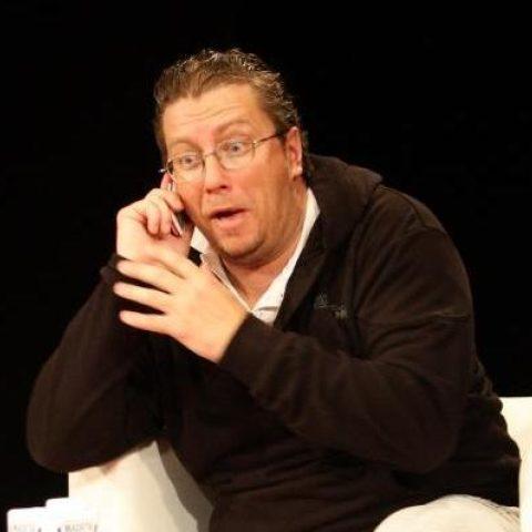 David Viktora v představení Bavič ND moravskoslezského v Ostravě
