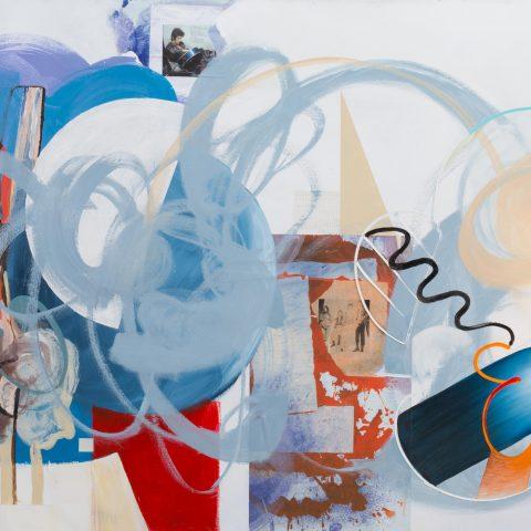 Gabriela Těthalová - Rock 'n' Roll Suicide; 2016; 140 x 200 cm