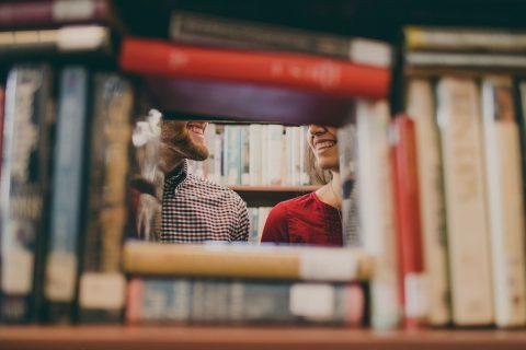 Knihovna, knihy, studium, student, literatura