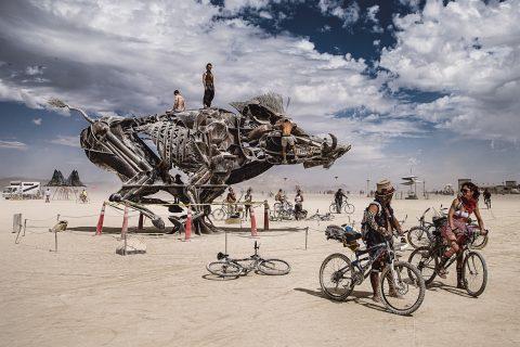 Marek Musil: World On Fire (festival Burning Man)
