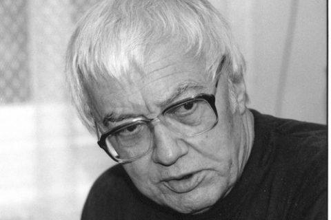 Ladislav Hejdánek na fotografii Věry Koubové asi v roce 2003