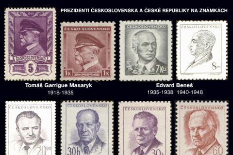 Prezidenti Československa a České republiky na známkách