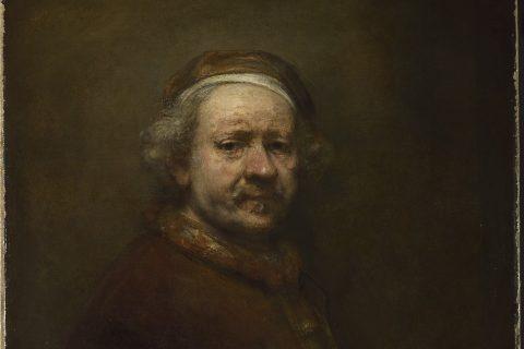 Rembrandt, Autoportrét ve věku 63 let (1669)