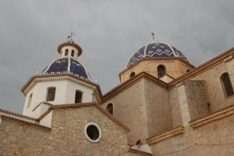 Kostel, Altea, Španělsko