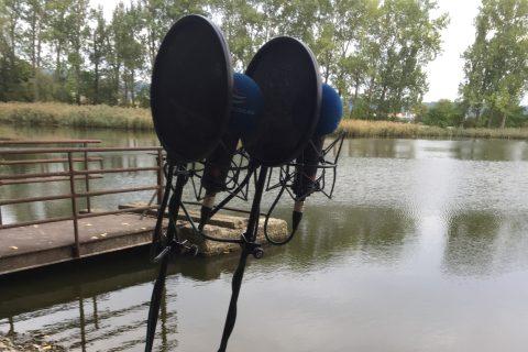 Roman Ludva: Rybník (natáčení rozhlasové hry)