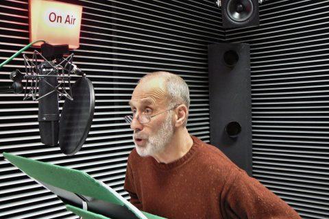 Jim (Jiří Ornest), natáčení hry Woodyho Allena Riverside Drive
