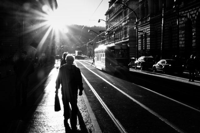 Tramvaj - městská hromadná doprava
