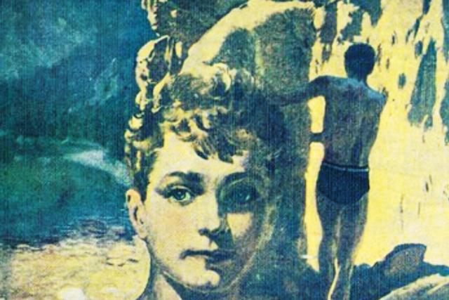 Z přebalu knihy Chata v jezerní kotlině Jaroslava Foglara,  1. knižní vydání | foto: Jan Kobes