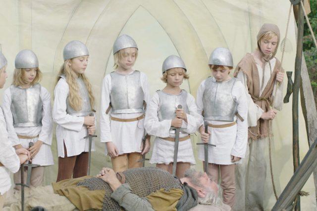 Z filmu Křižáček Václava Kadrnky